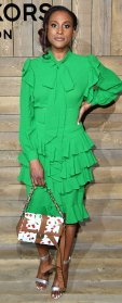 Celebs at New York Fashion Week - Issa Rae