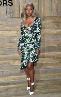 Celebs at New York Fashion Week - Justine Skye