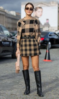 Celeb Style At Paris Fashion Week - Camila Coelho