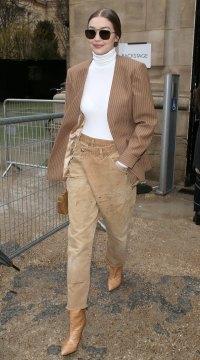 Celebs At Paris Fashion Week - Gigi Hadid