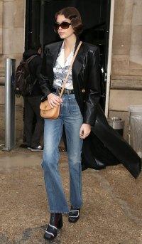 Celebs At Paris Fashion Week - Kaia Gerber