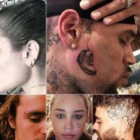 Celebs With Face Tattoos