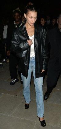 Celebs at London Fashion Week - Bella Hadid