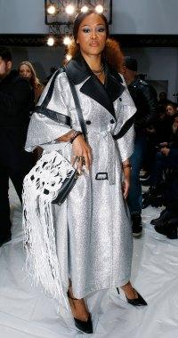 Celebs at London Fashion Week - Eve