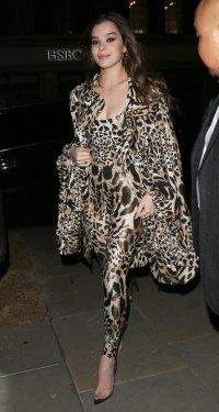 Celebs at London Fashion Week - Hailee Steinfeld