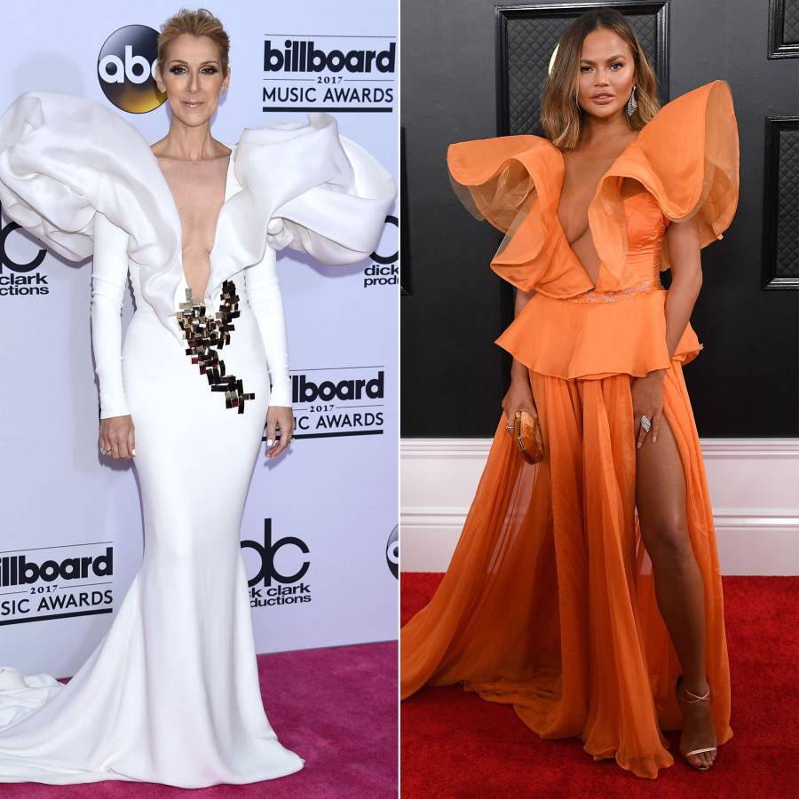 Celine Dion Fashion Inspo - Chrissy Teigen