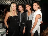 Margot Robbie, Margaret Qualley, Phoebe Tonkin and Elizabeth Chambers Charles Finch and Chanel Pre-Oscars Dinner