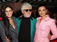 Demi Moore, Pedro Almodovar and Penelope Cruz Charles Finch and Chanel Pre-Oscars Dinner