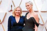 Charlize Theron and Gerda Jacoba Aletta Maritz Stars Bring Family Members to 2020 Oscars