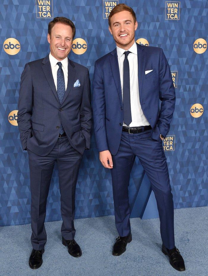 Chris Harrison and Peter Weber ABC TCA Winter Press Tour