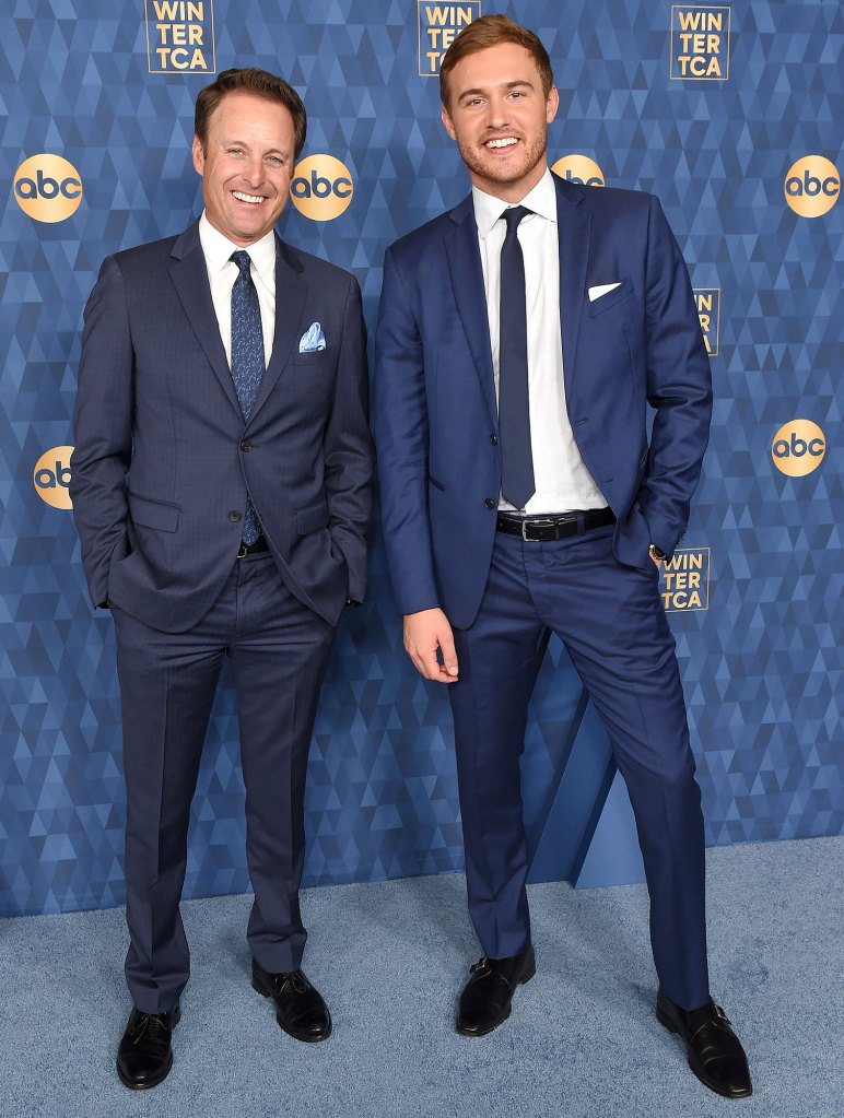 Chris Harrison and Peter Weber ABC TCA Winter Press Tour