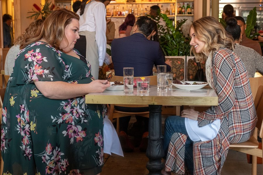 Chrissy Metz and Caitlin Thompson This Is Us 4x15 Recap