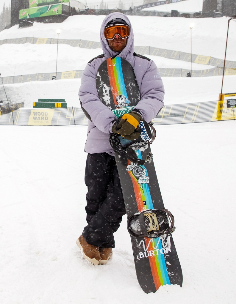 Danny Davis Copper Mountain Dew Tour 2020 Athletes Stay Warm on the Slopes