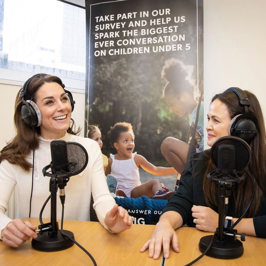 Duchess Kate Makes Podcast Debut