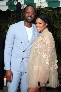 Dwayne Wade and Gabrielle Union attend the CAA Pre-Oscar Party