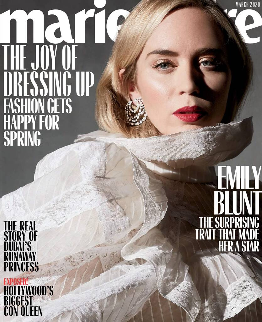 Emily Blunt Marie Claire