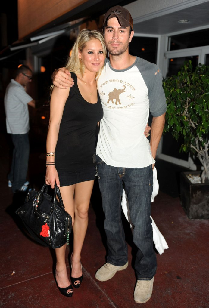 Enrique Iglesias and Anna Kournikova Secretly Welcome 3rd Child