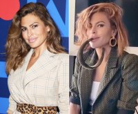 Eva Mendes New Short Hair