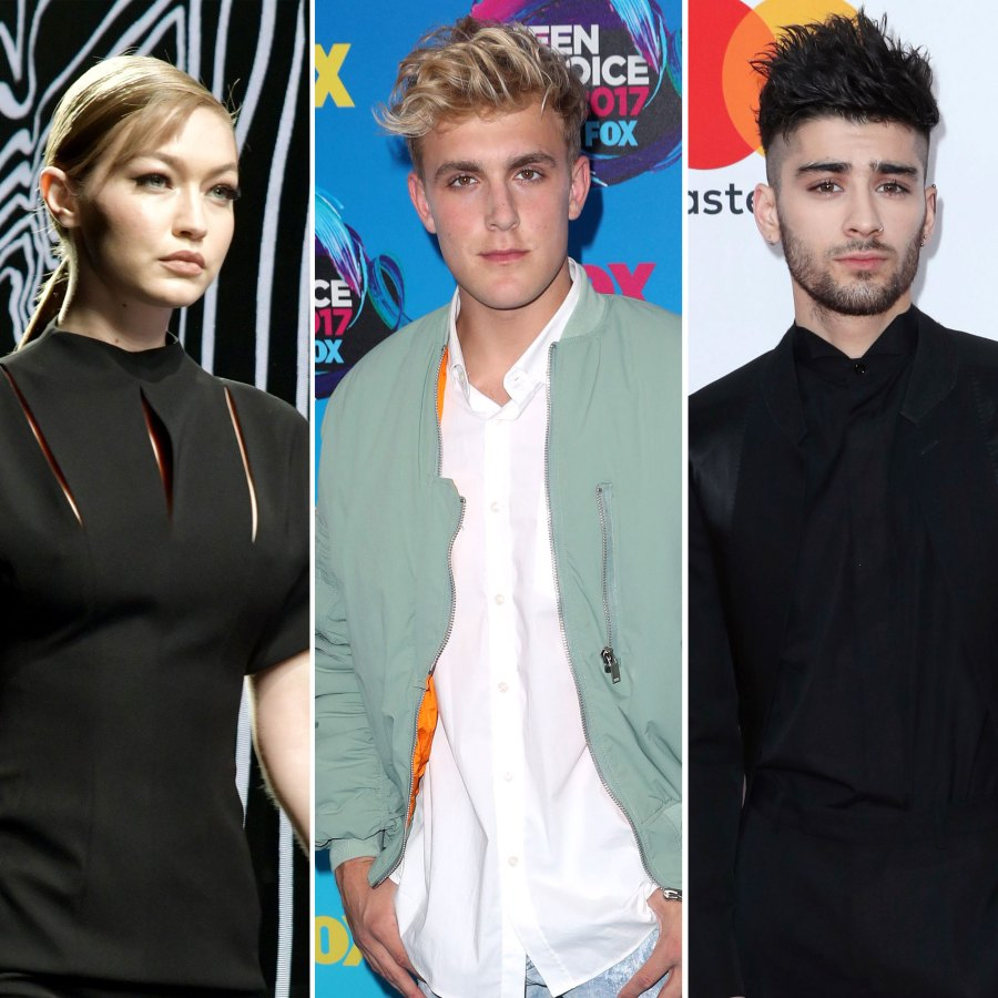 Gigi Hadid Claps Back at YouTuber Jake Paul Over Zayn Malik
