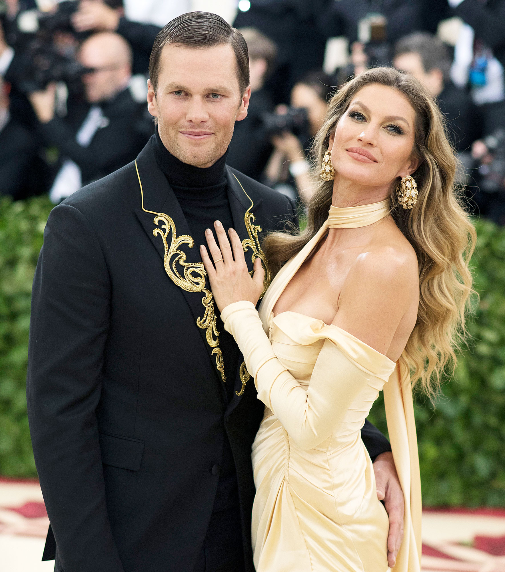 Tom Brady and Gisele Bundchen attend The MET Gala Gisele Bundchen Says She Will Live Wherever Tom Brady Is Happy Playing Amid Rumors Hes Leaving the Patriots