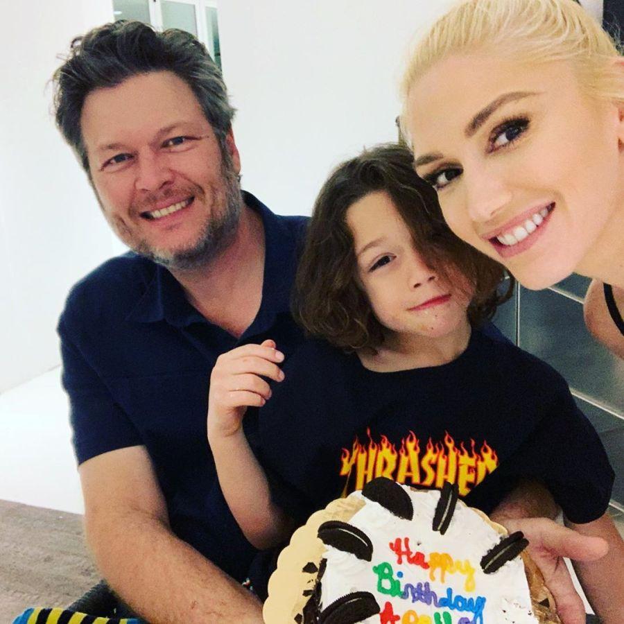Gwen Stefani Celebrates Son Apollo's 6th Birthday With Blake Shelton