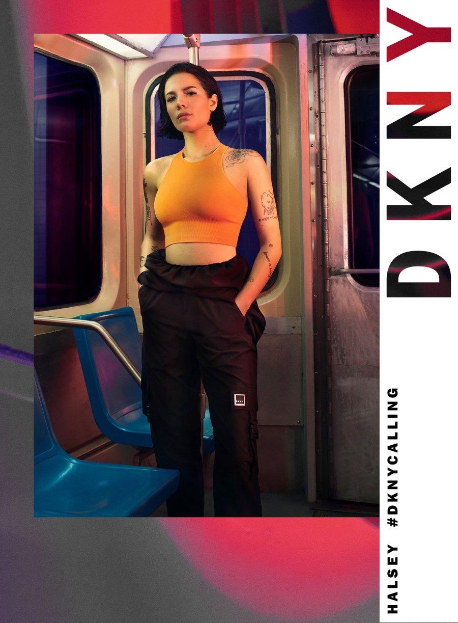 Halsey x DKNY Campaign