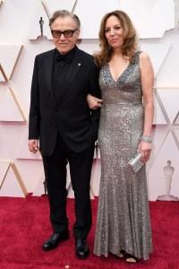 Harvey Keitel and Daphna Kastner Couples PDA Academy Awards Oscars 2020