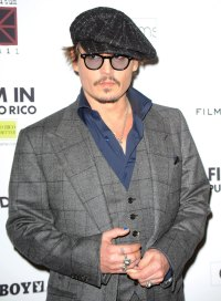 Hollywood Men Wearing Nail Polish - Johnny Depp