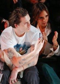 Hollywood Men Wearing Nail Polish - Brooklyn Beckham