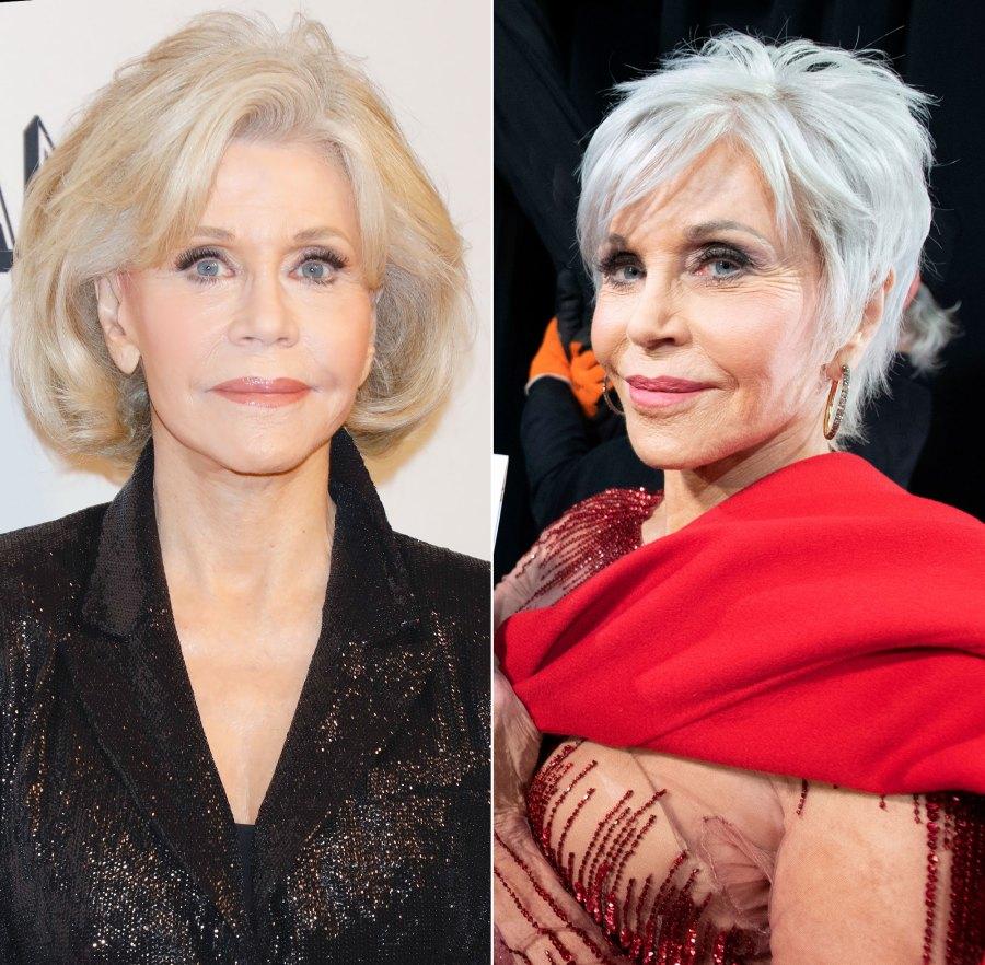 Jane Fonda Oscars 2020 Hair Change