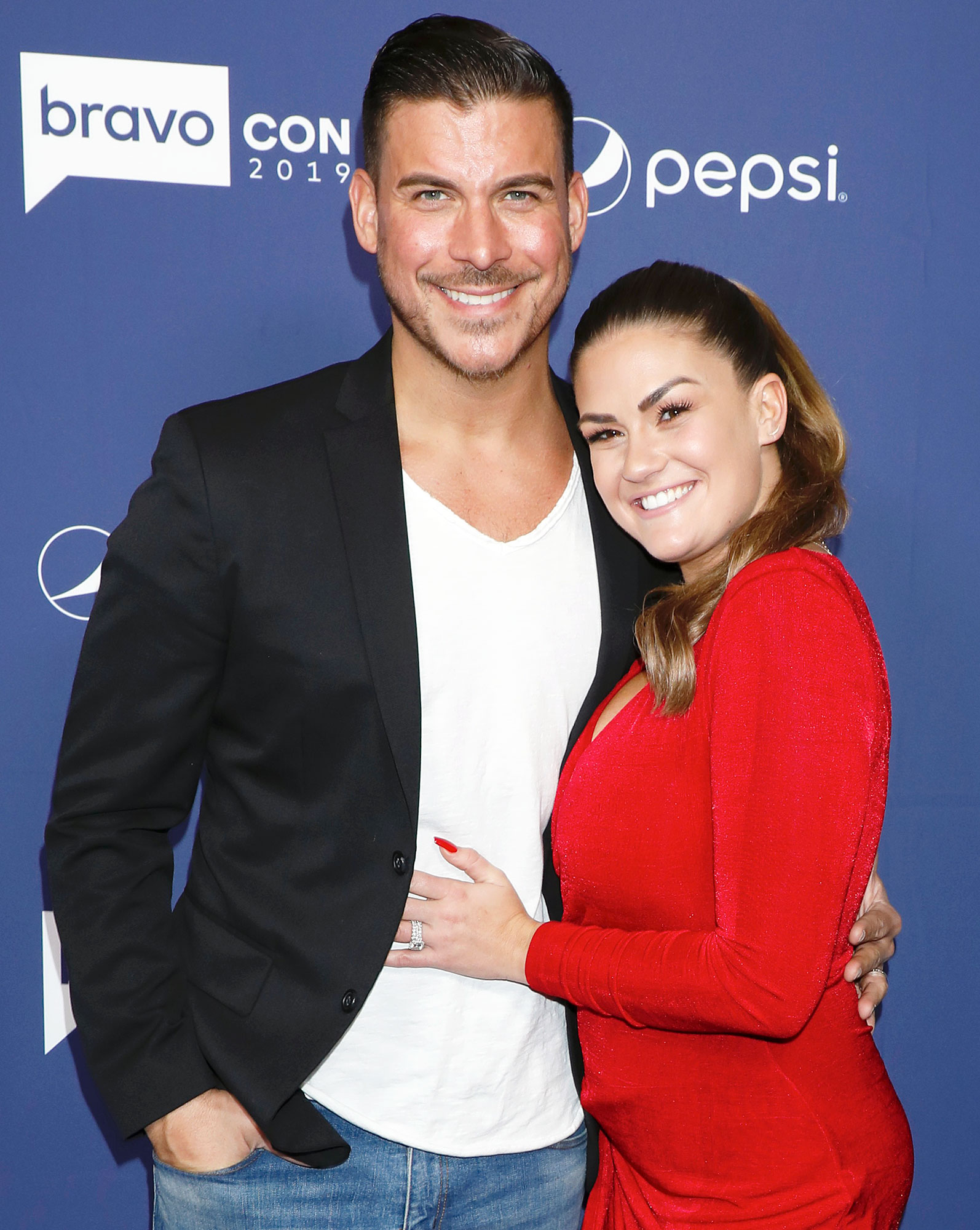 Jax Taylor and Brittany Cartwright attend BravoCon Jax Taylor Goes Off on Tom Sandoval After They Fight About His Wedding Pastor on Vanderpump Rules