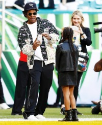 Jay Z Takes Daughter Blue Ivy to Super Bowl 2020 1