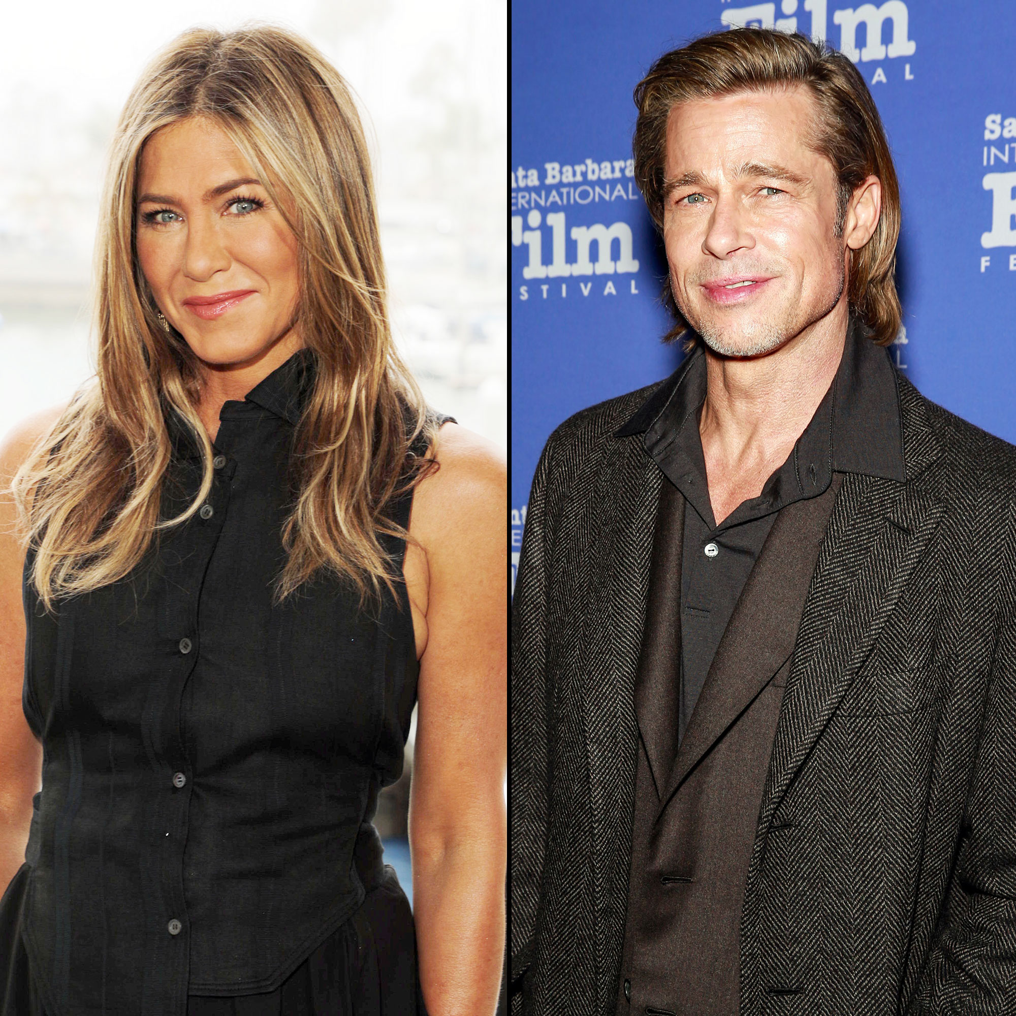 Jennifer Aniston and Brad Pitt Think Its Hysterical People Want Them Back Together