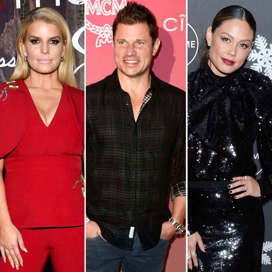 Jessica Simpson Admits Nick Lachey and Vanessa Lachey Didn't Send a Baby Gift