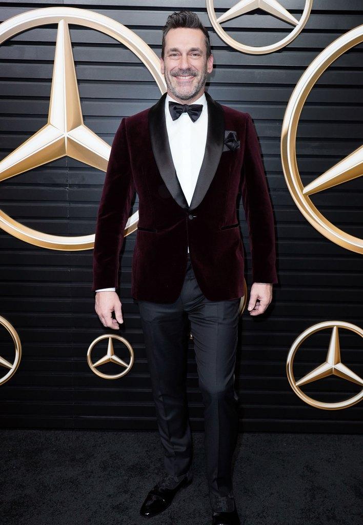 Jon Hamm Mercedes-Benz Annual Academy Awards Viewing Party Oscars 2020