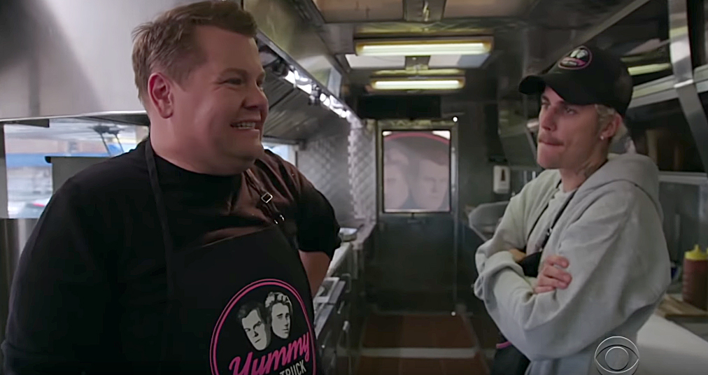 Justin-Bieber-and-James-Corden-Open-Their-'Yummy'-Food-Truck