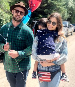 Justin Timberlake Jessica Biel Agreed Not to Argue Front Son Silas