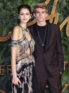 Kaia and Presley Gerber