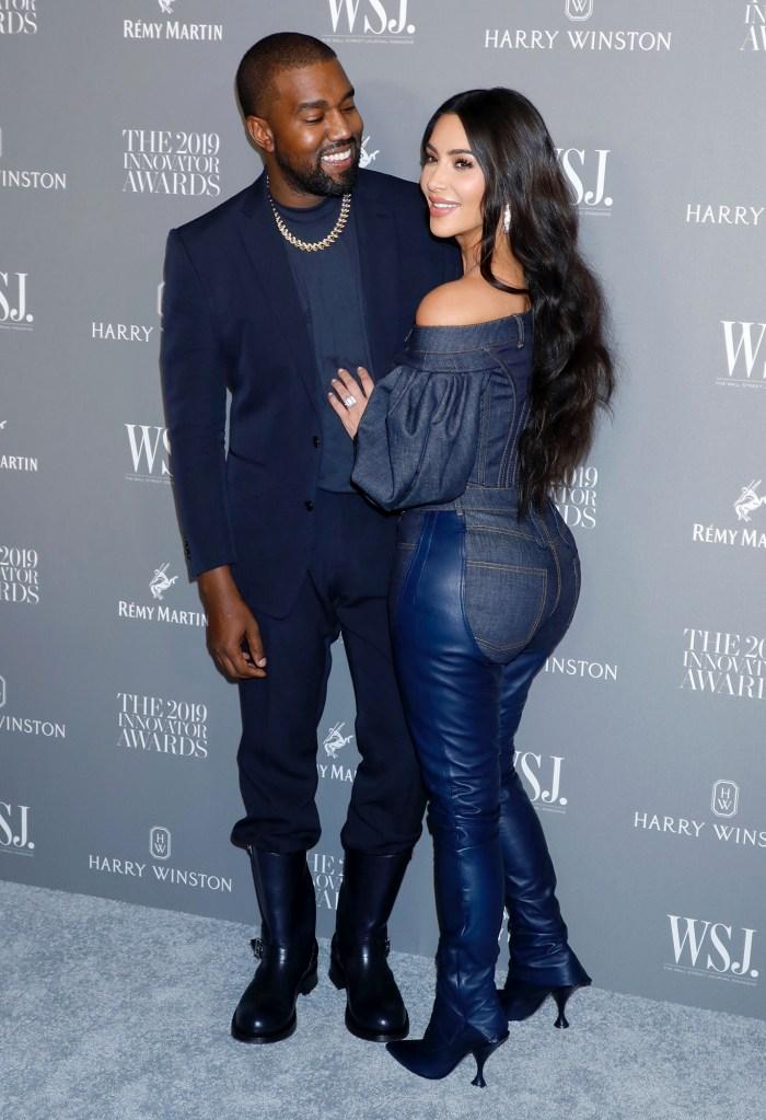 Kanye West and Kim Kardashian West Innovator Awards