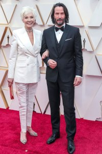 Keanu Reeves and Mother Patricia Taylor Oscars 2020
