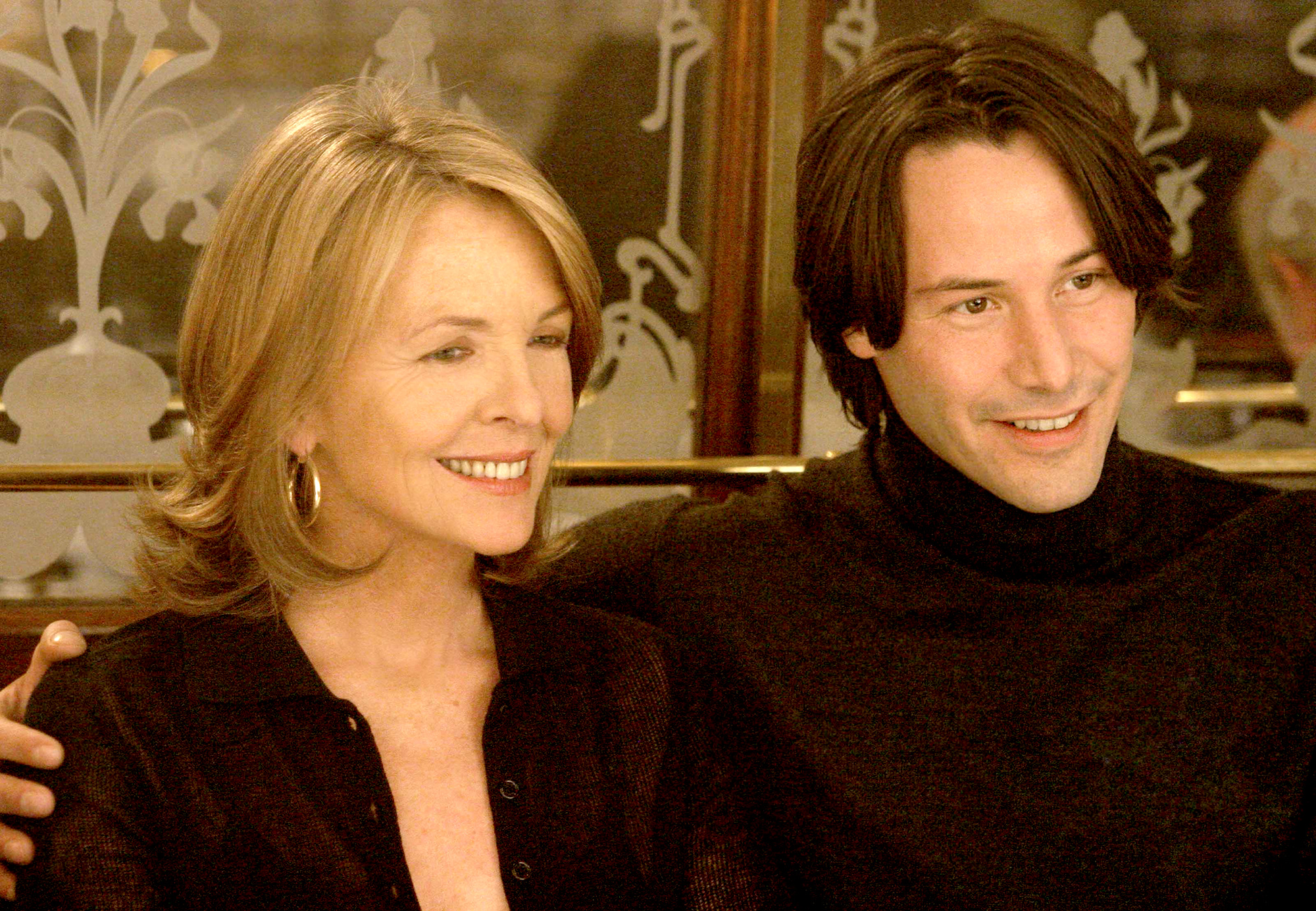 Keanu and Diane Keaton Have 'Something's Gotta Give' Reunion 2