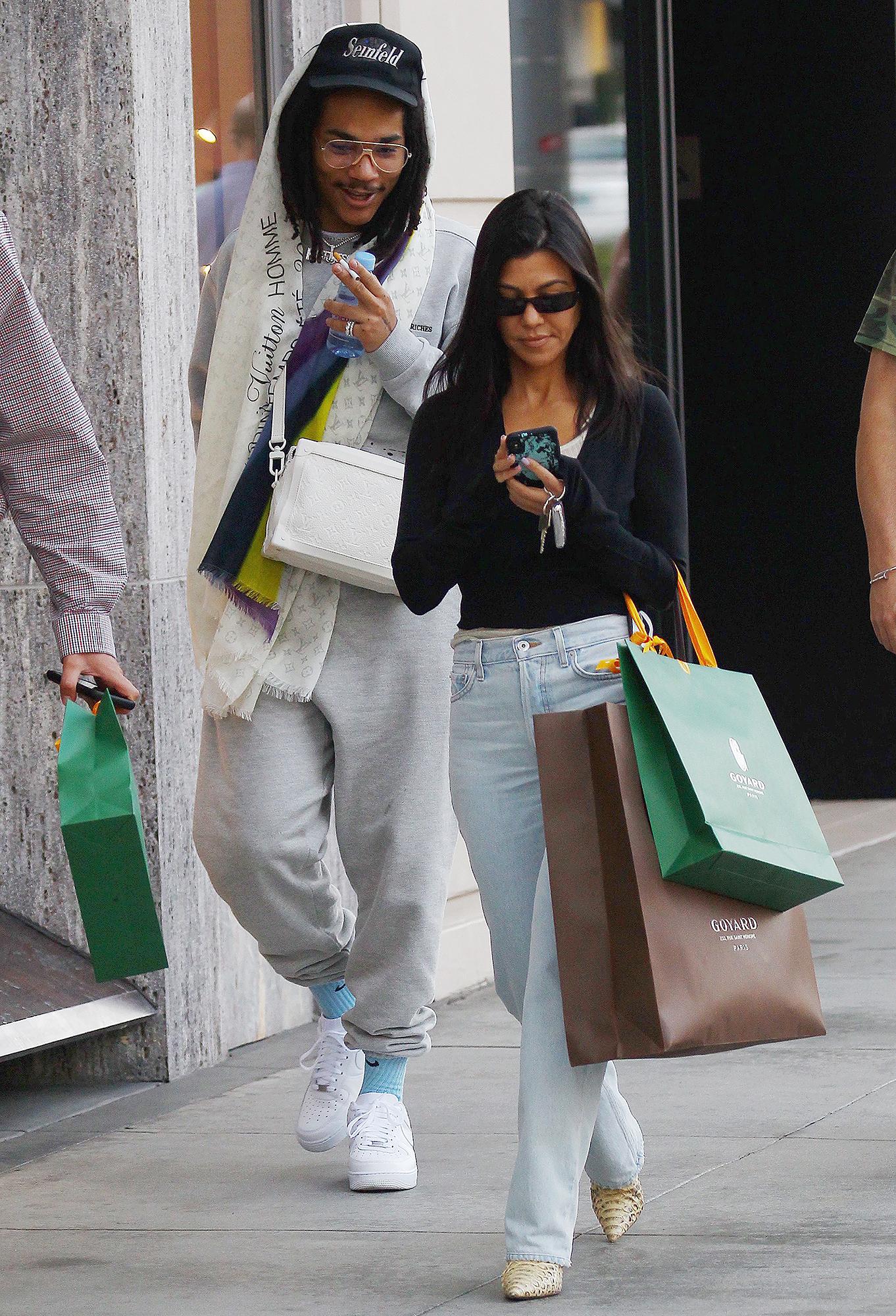Kendall-Jenner-Gets-Close-to-Kourtney-Kardashian's-Ex-Luka-Sabbat
