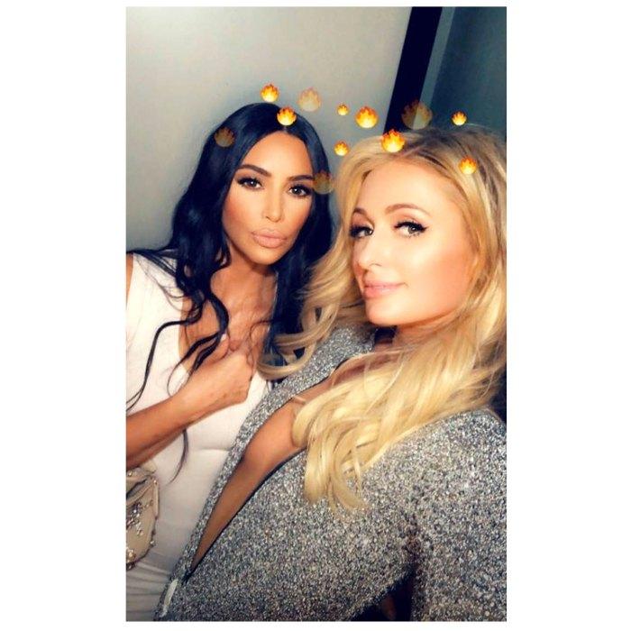 Kim Kardashian Posts Epic Throwback Pics Honor of Paris Hilton Birthday