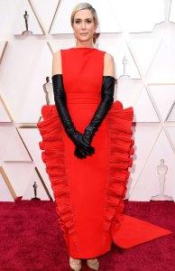 Kristen Wiig Downright Wacky Fashion on the Oscars 2020 Red Carpet