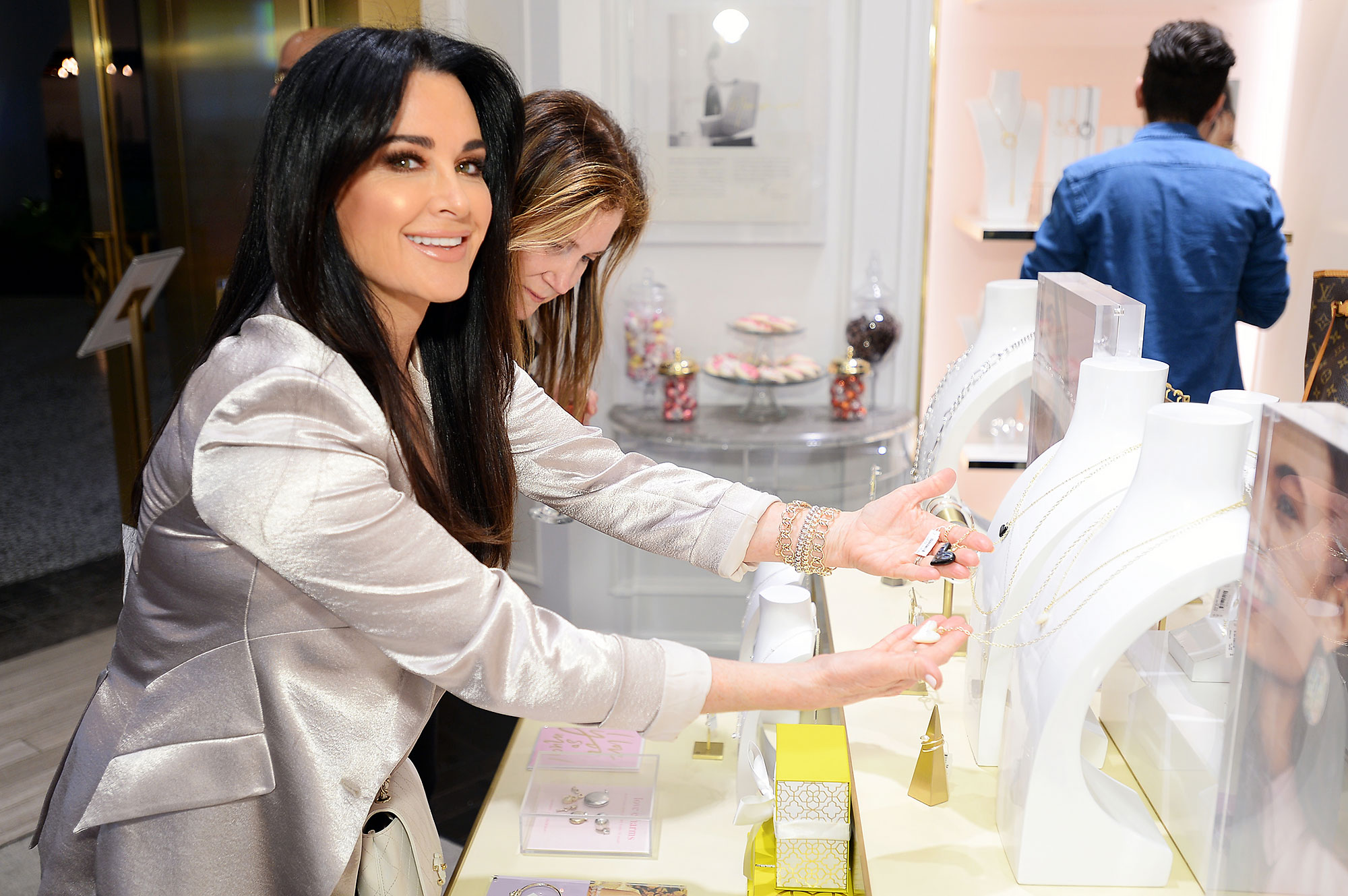 Kyle Richards attends the Kendra Gives Back event