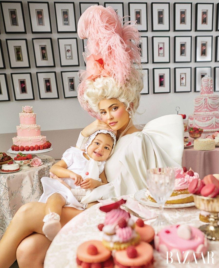Kylie Jenner Talks Co-Parenting Travis Scott in Harper's Bazaar March 2020 Issue