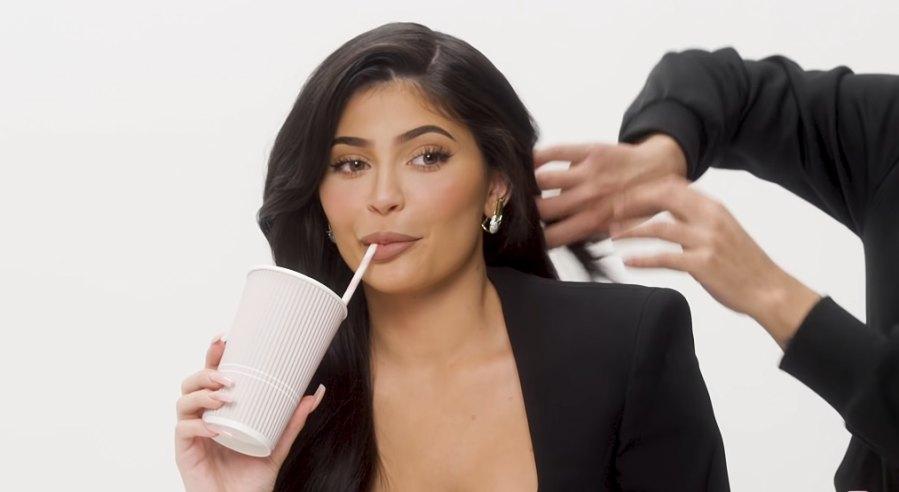 Kylie-Jenner-peach-tea