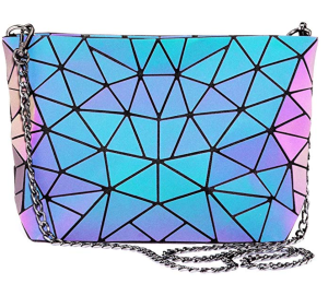 LOVEVOOK Geometric Luminous Crossbody Bag