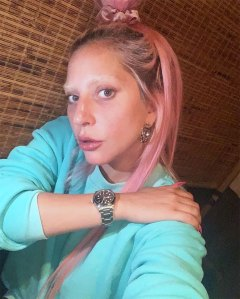 Lady Gaga New Bleached Brows