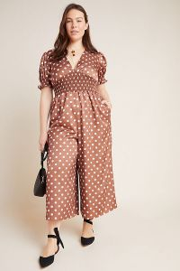 Lavinia Polka Dot Plus Jumpsuit